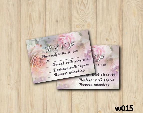 Floral Wedding RSVP | Personalized Digital Card
