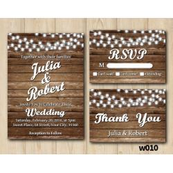 String Lights Wedding Set